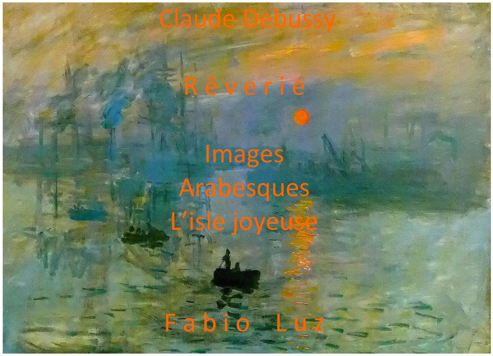 front cover CD Debussy